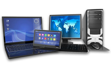 PC's, laptops, tablets